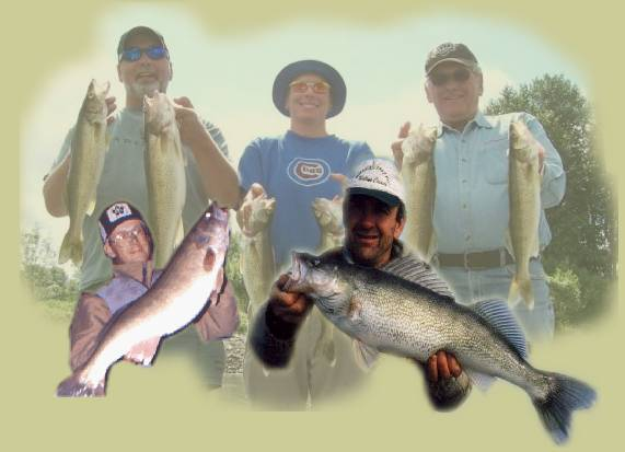 Oregon Walleye Fishing Trips